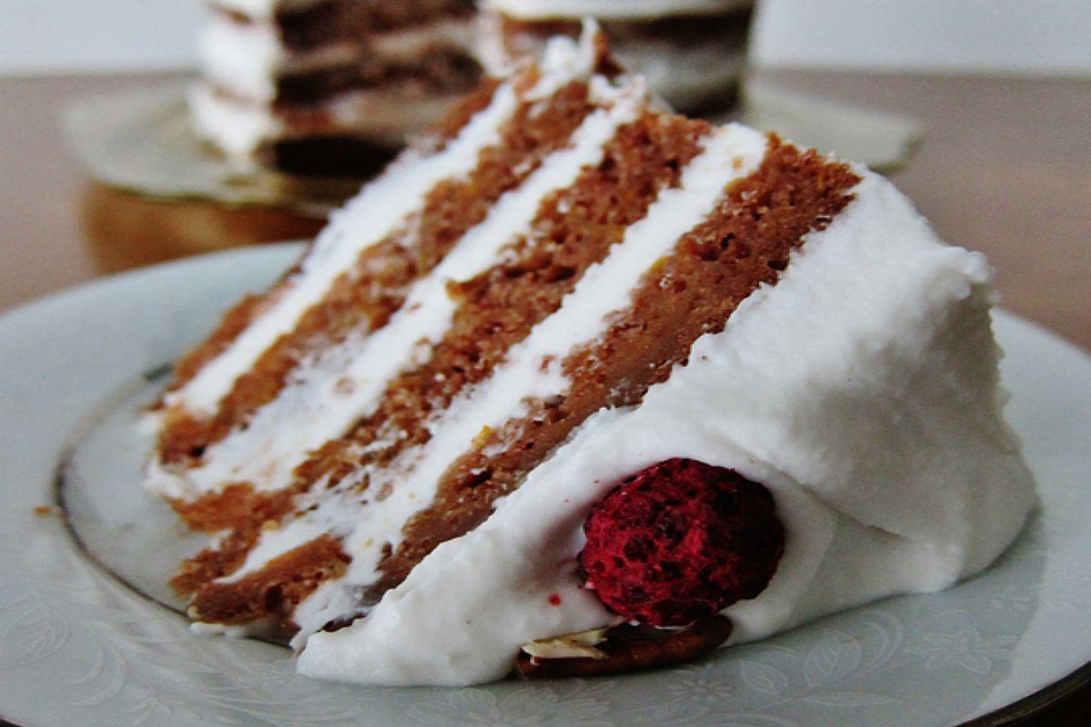 Summer Squash Spice Cake