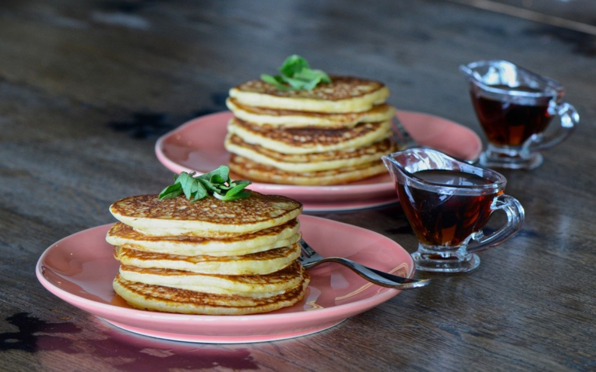 Vegan Easy Overnight Pancakes
