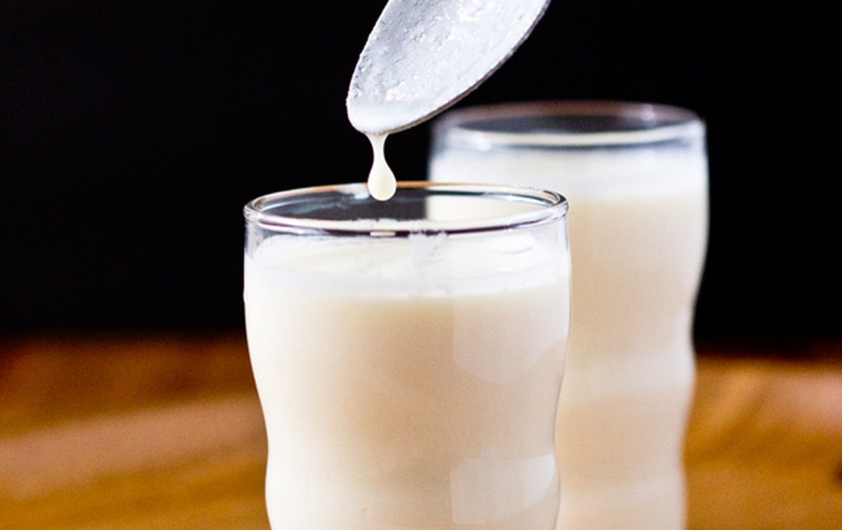 How to make soy milk kefir vegan one green planetone for Plante kefir