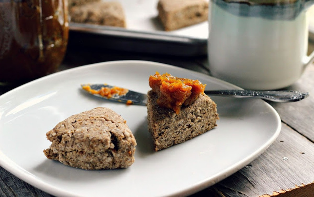 Buckwheat Scones With Spiced Butternut Squash Butter ...