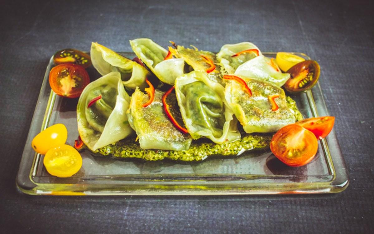 Potsticker tortellini vegan one green planet for Stage cuisine vegan