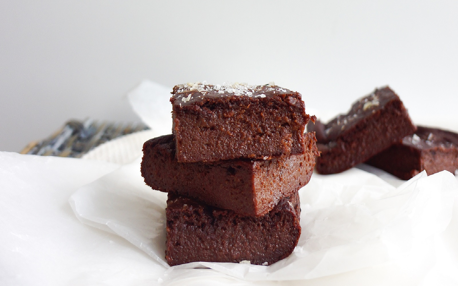 Avocado and Date Brownies With Sea Salt
