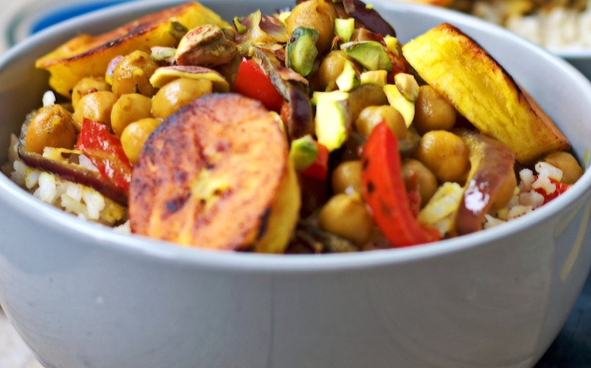 The abundance of plantains at two