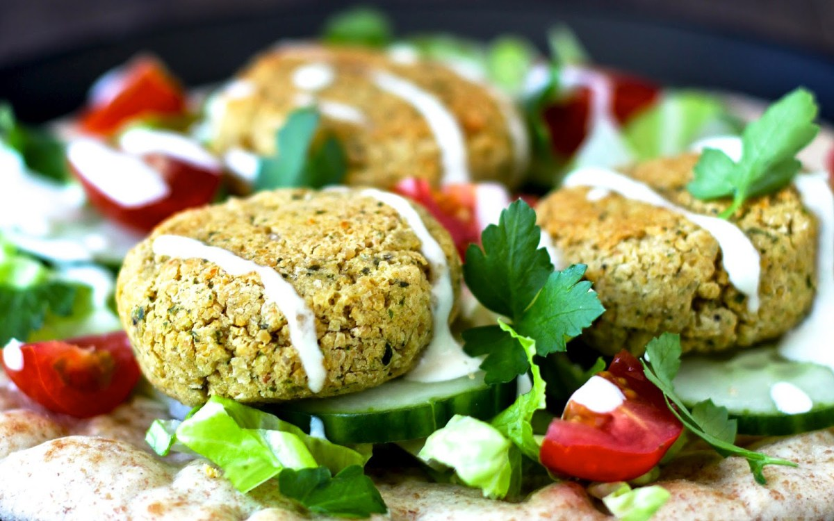 20 of the best falafel recipes you ll ever eat one green planet. Black Bedroom Furniture Sets. Home Design Ideas