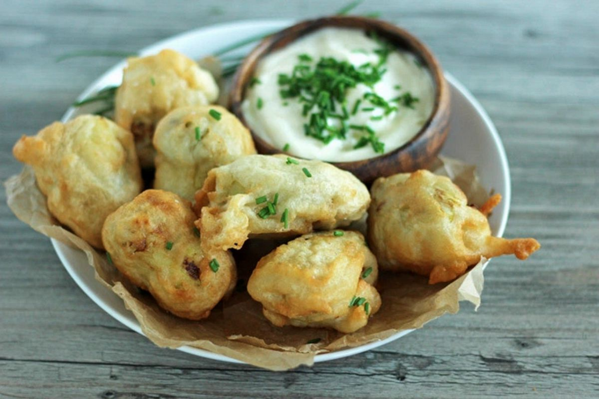 Beer-Battered Artichoke Hearts