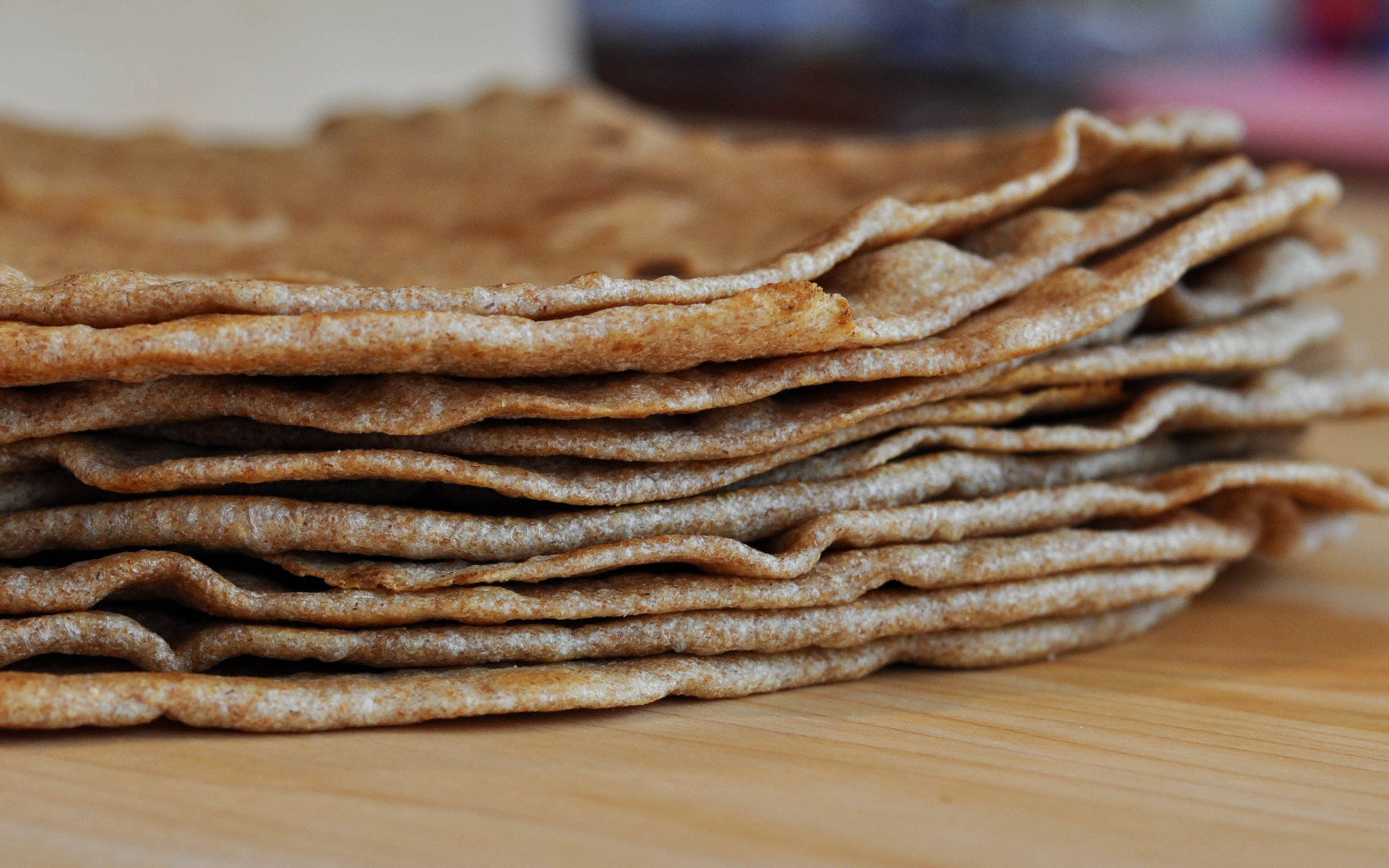 Vegan Sprouted Whole Wheat Tortillas