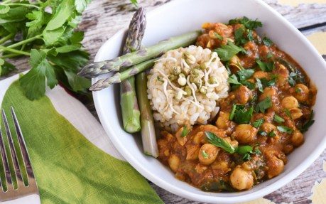 Cinnamon-Spiced Chana Masala