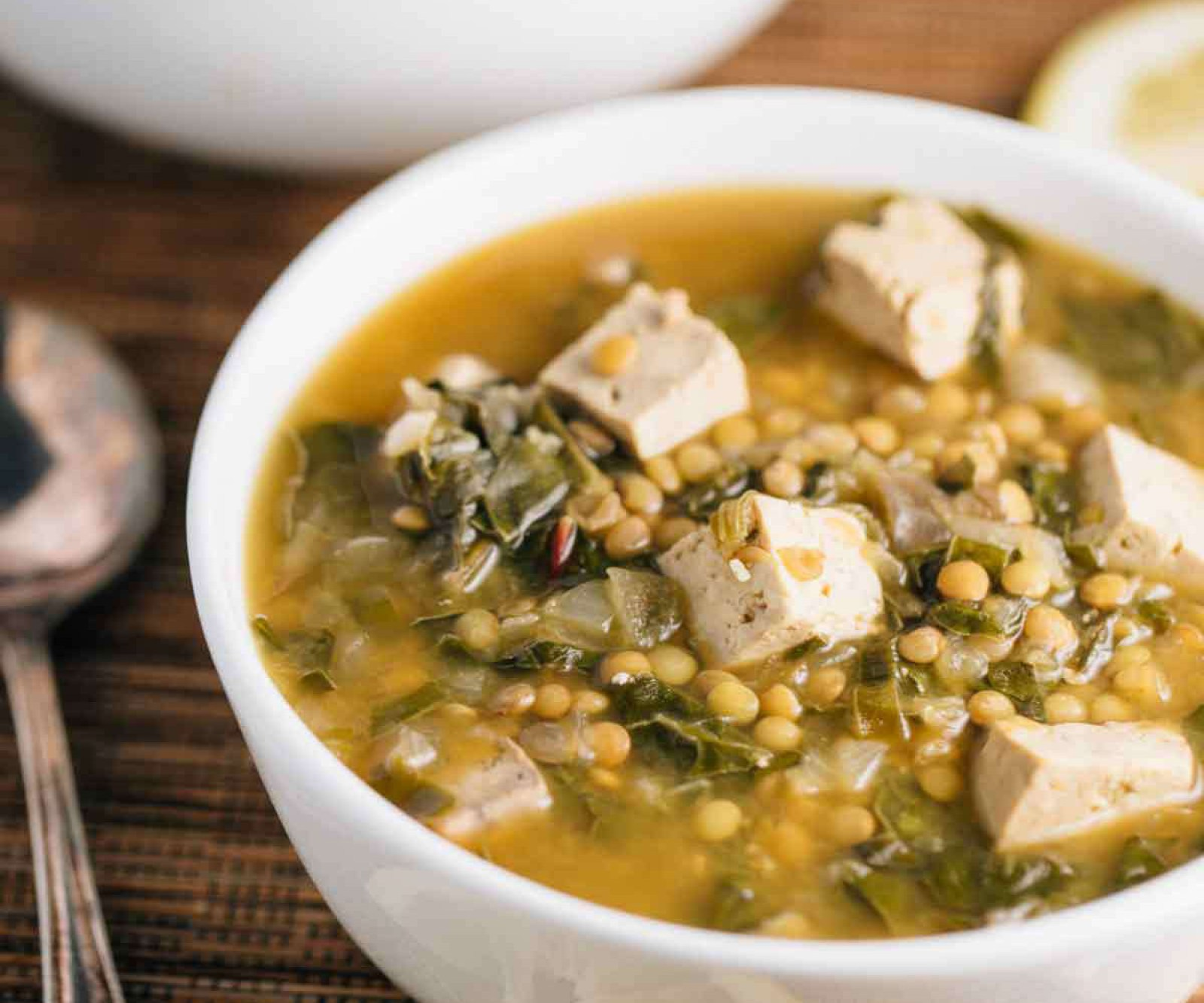 Slow-Cooker Lentil Miso Soup