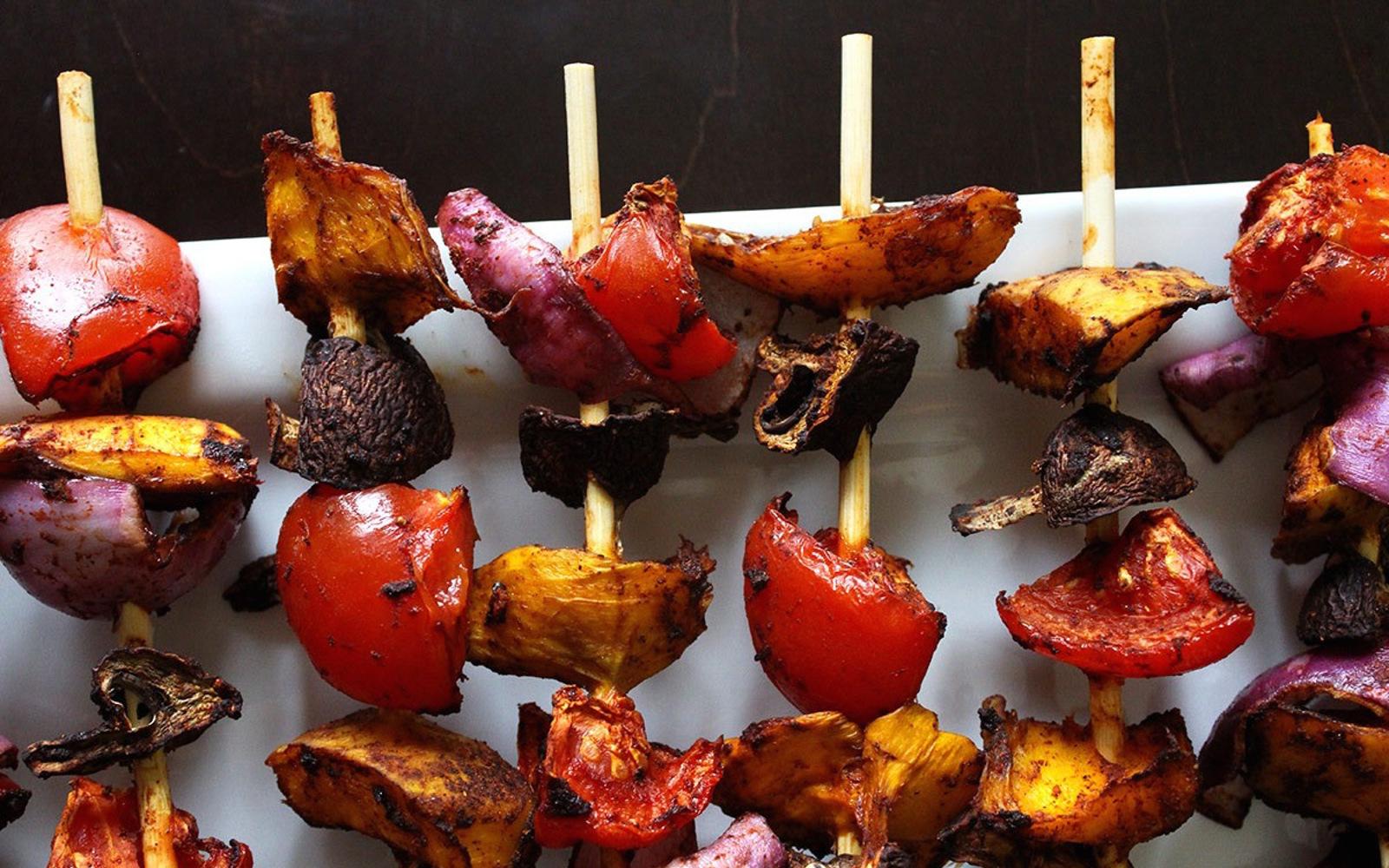 Mango Meat Kebabs