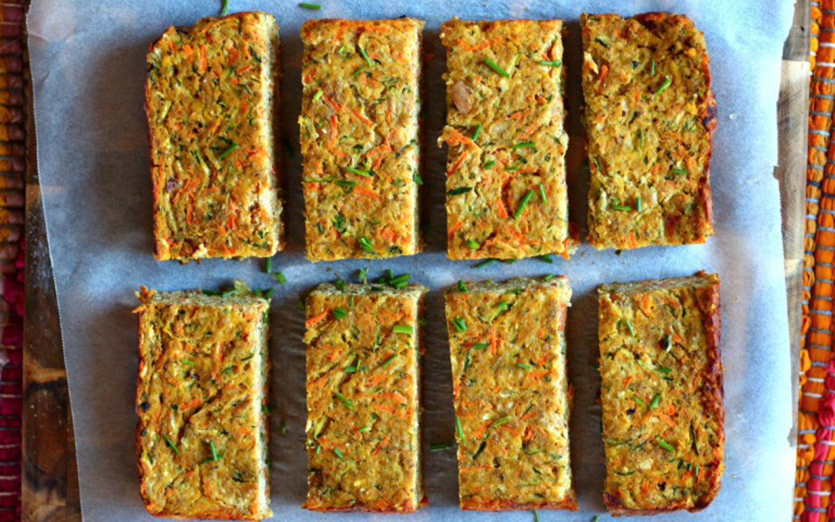 Zucchini Carrot Slices