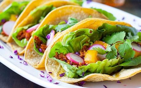 Chickpea Chorizo Tacos