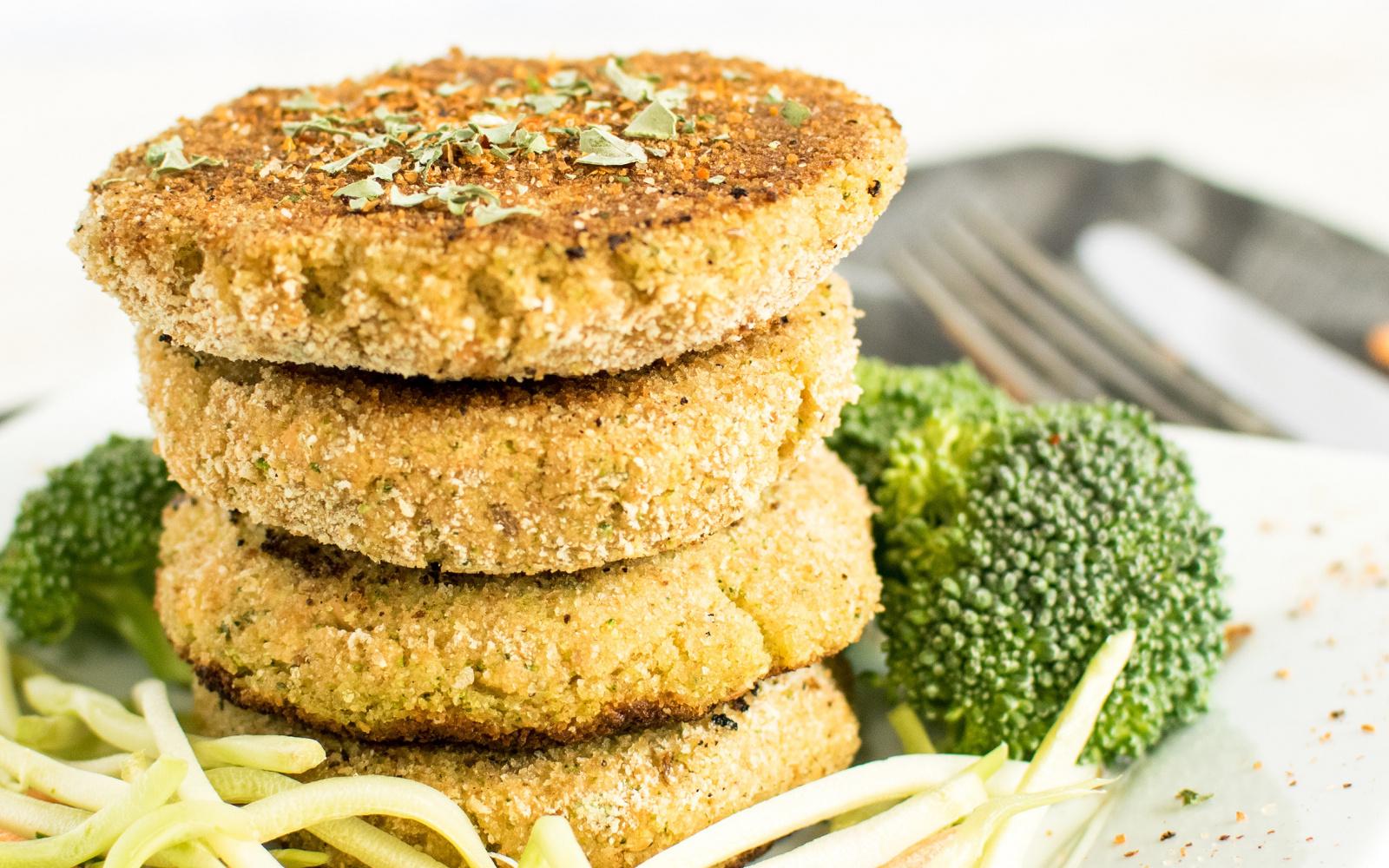 lentil broccolo cutlets