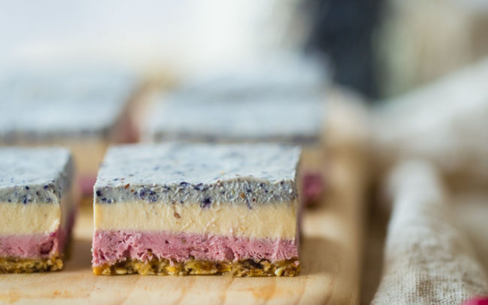 Berry Cashew Dream Bars 3