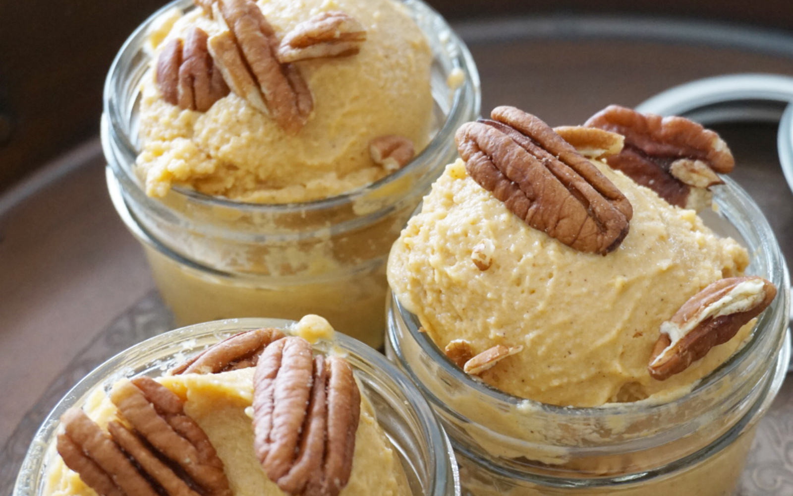 Vegan Sweet Potato Ice Cream