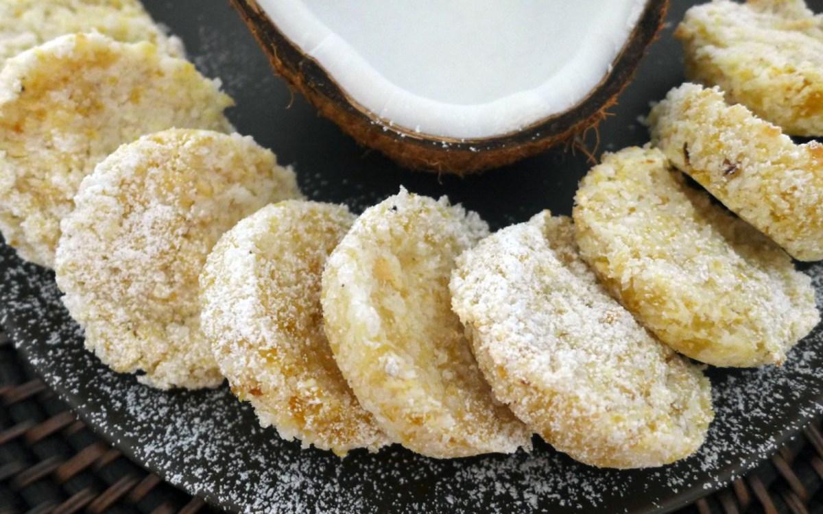 Beju: Nigerian Coconut Cookie
