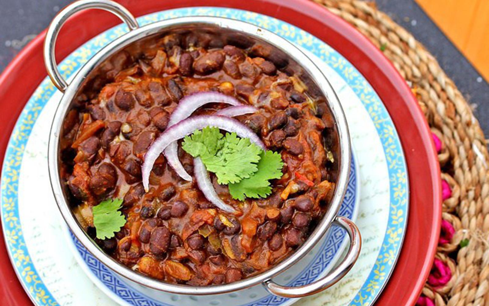 Creamy Indian Black Beans 1