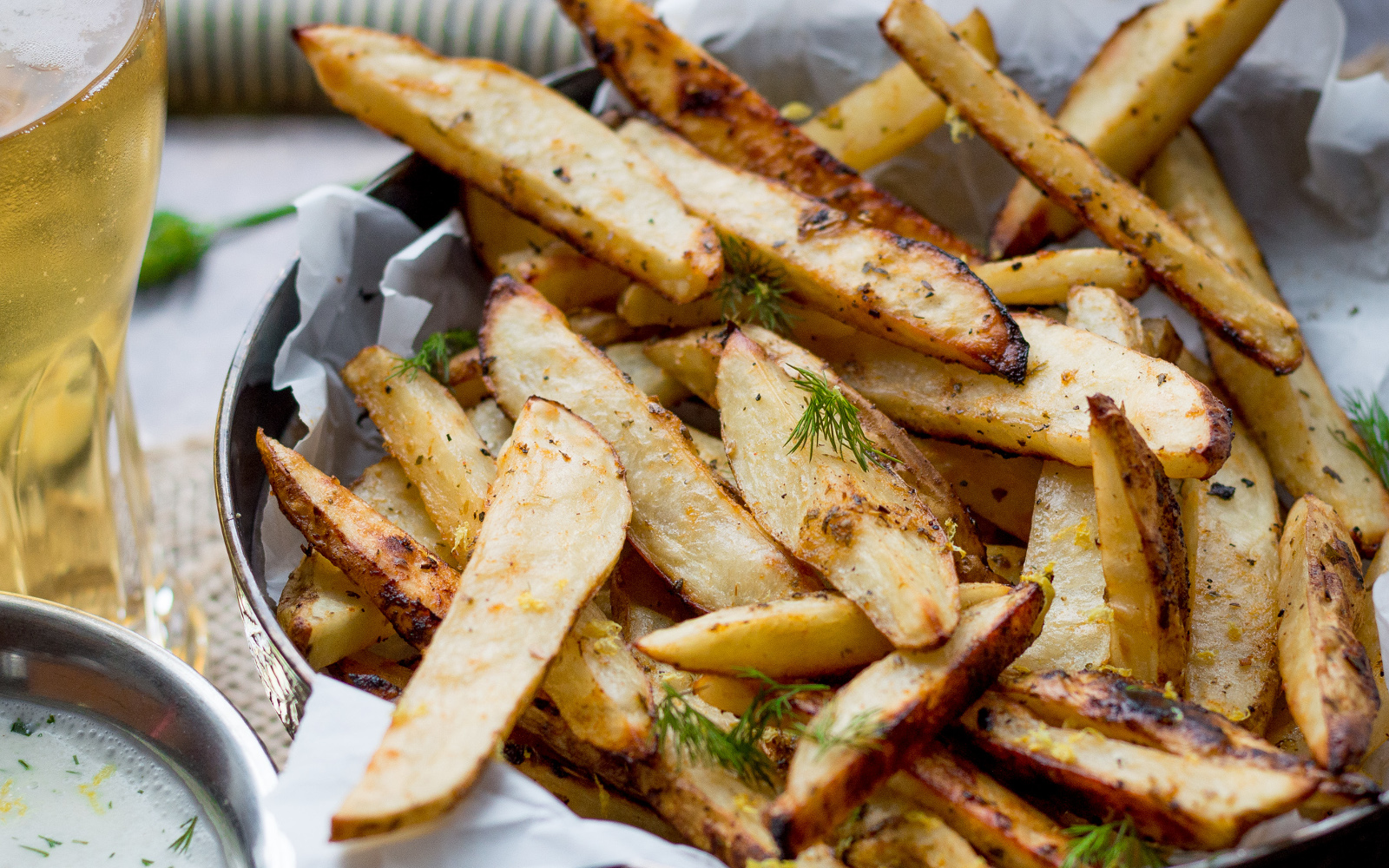 Greek Style Oven Fries 1