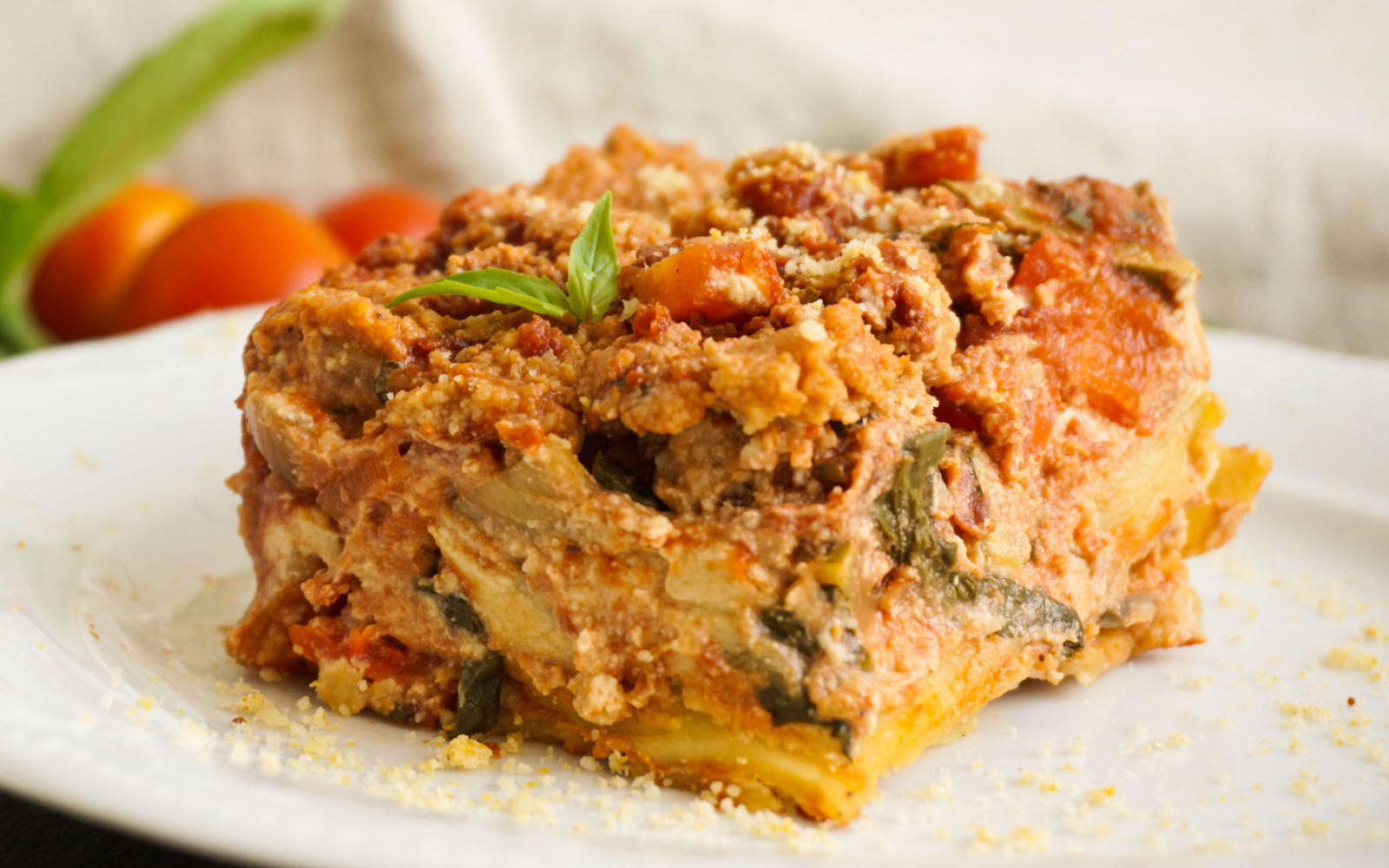 vegan Lasagna With Cashew Bechamel