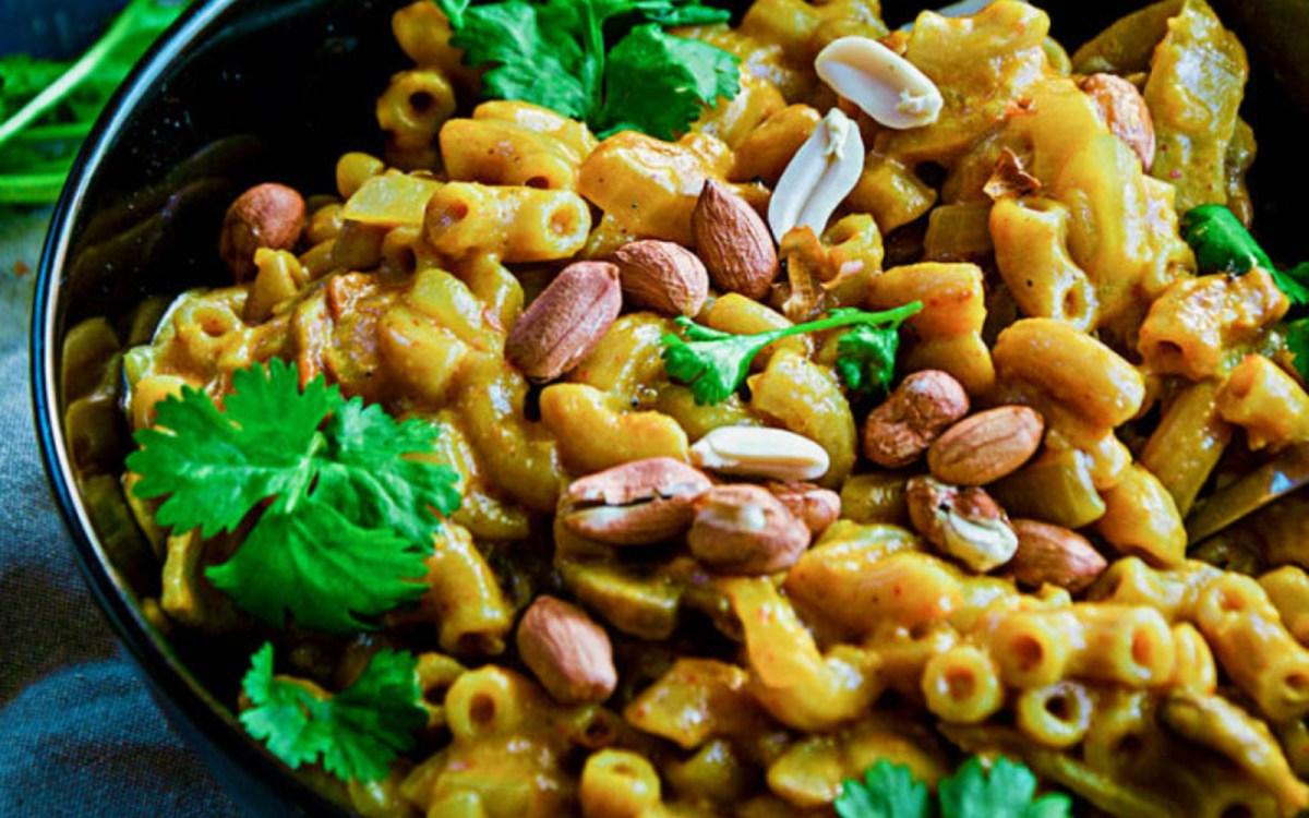 One Pan Thai Yellow Curry Macaroni 6