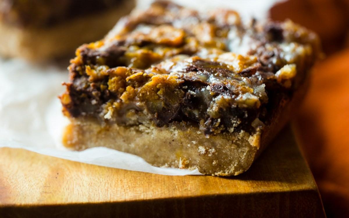 Pumpkin Spice Magic Cookie Bars [Vegan, Gluten-Free] - One ...