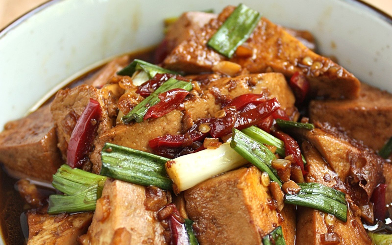 Vegan Simple Chinese Braised Tofu