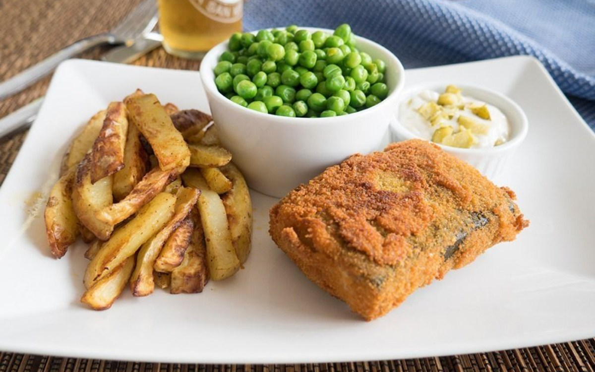 Tofu fish and chips vegan one green planet for All you can eat fish and chips near me
