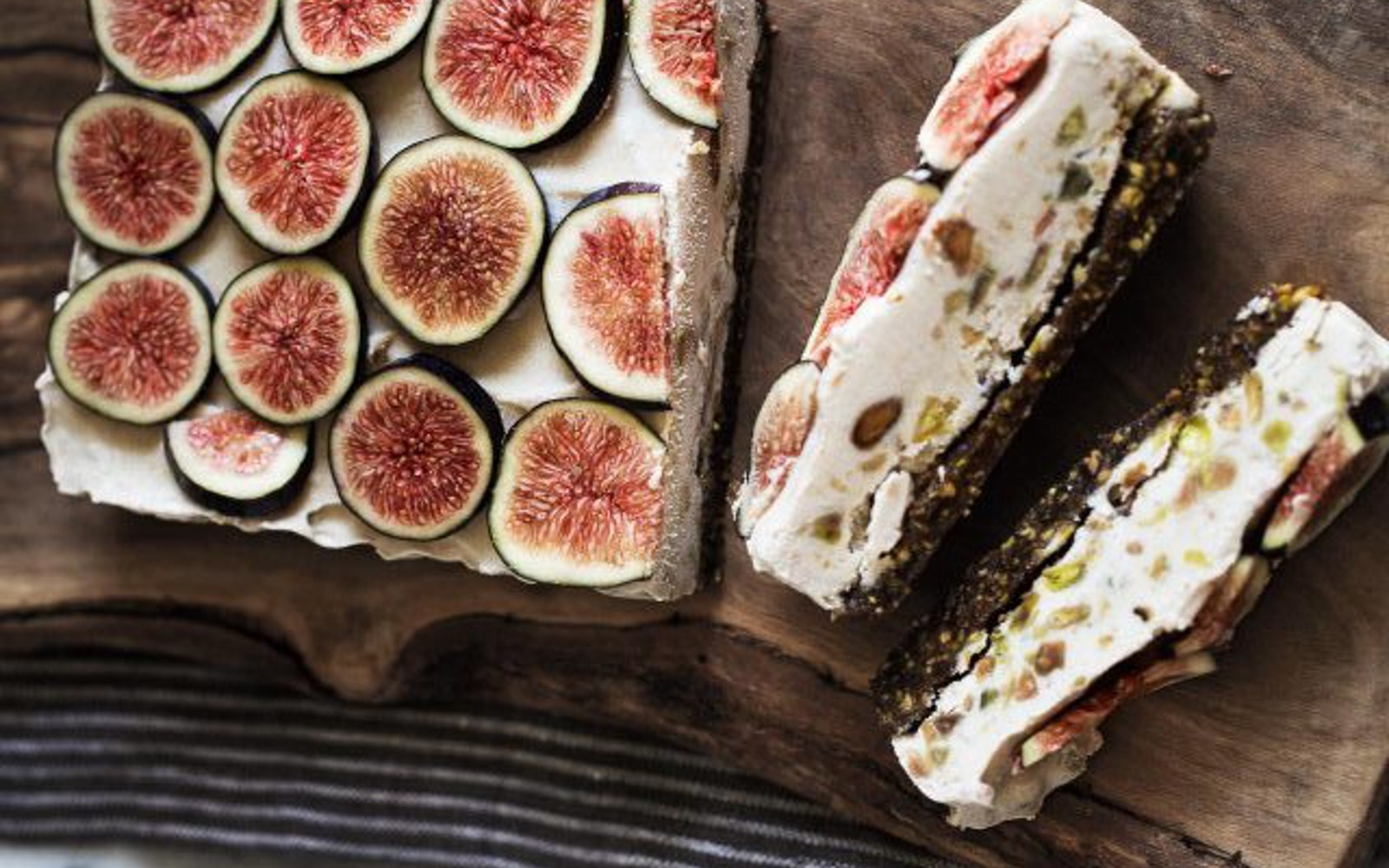 Fig Pistachio Bars