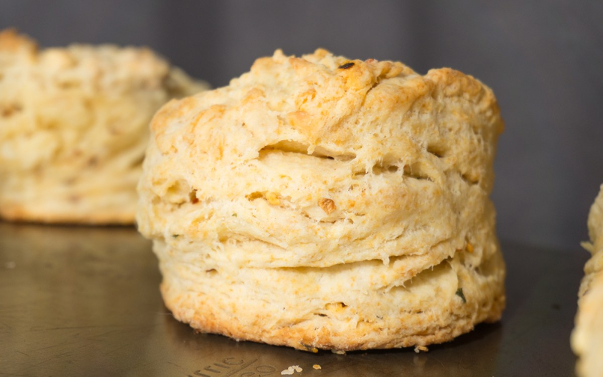 Spicy Sriracha Buttermilk Biscuits 1
