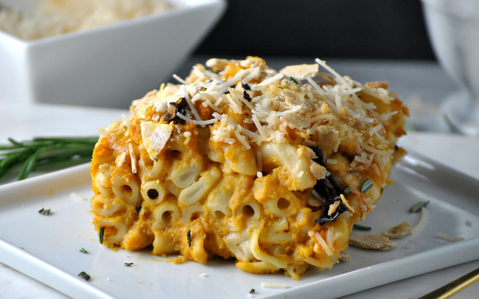 Butternut Squash Mac and Cheese Casserole 7