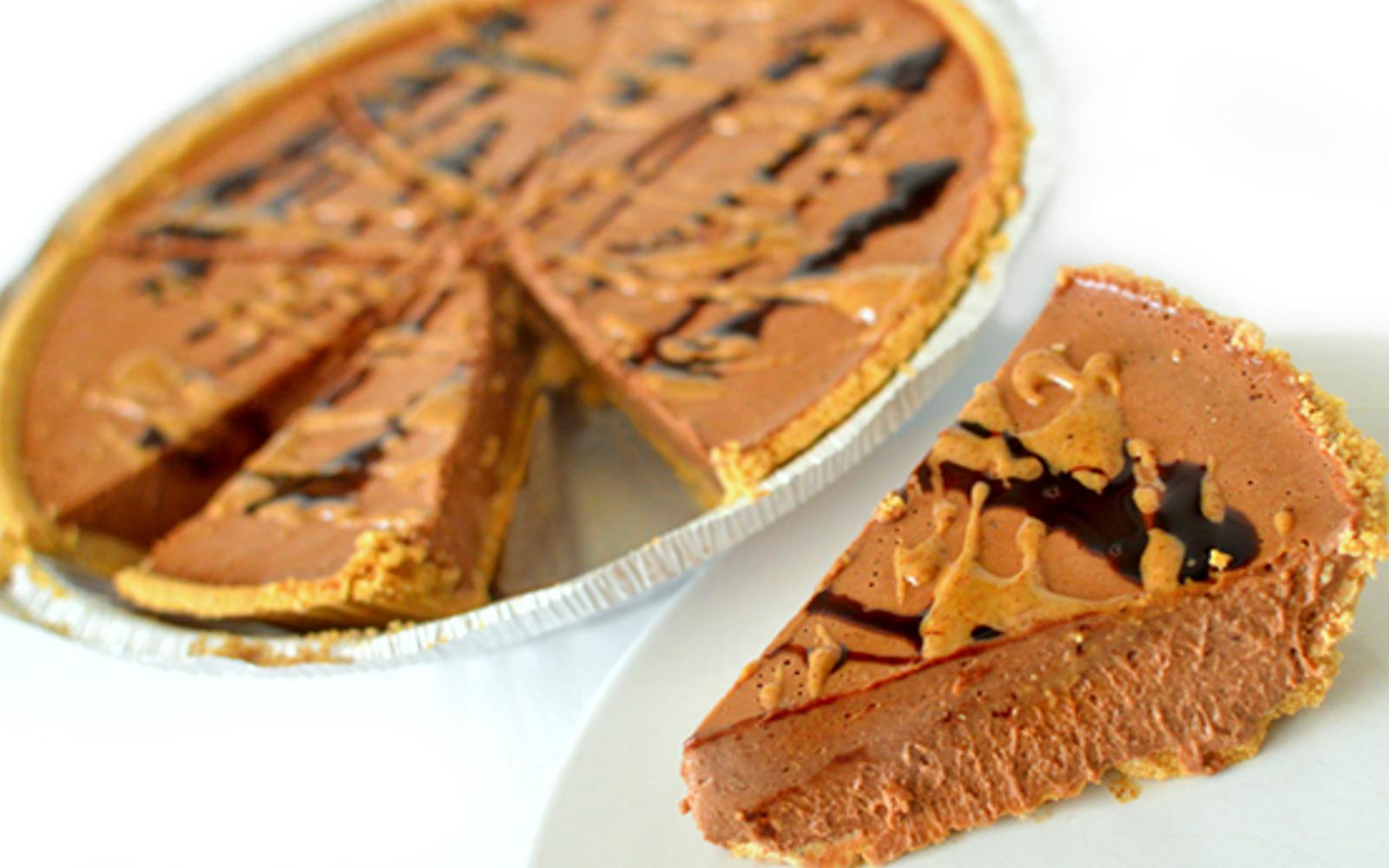 Chocolate Almond Butter Pie