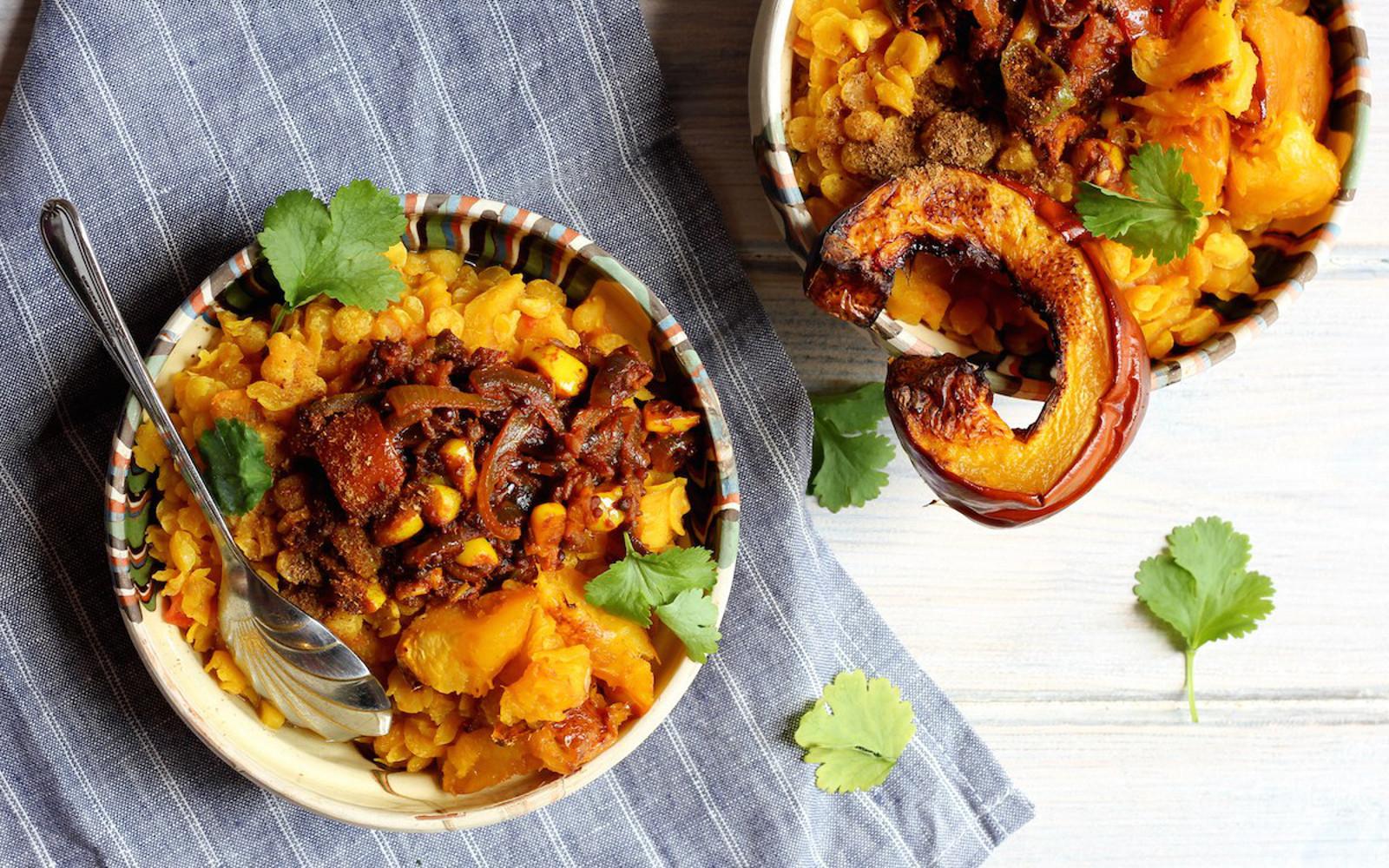 Pumpkin Tarka Dhal