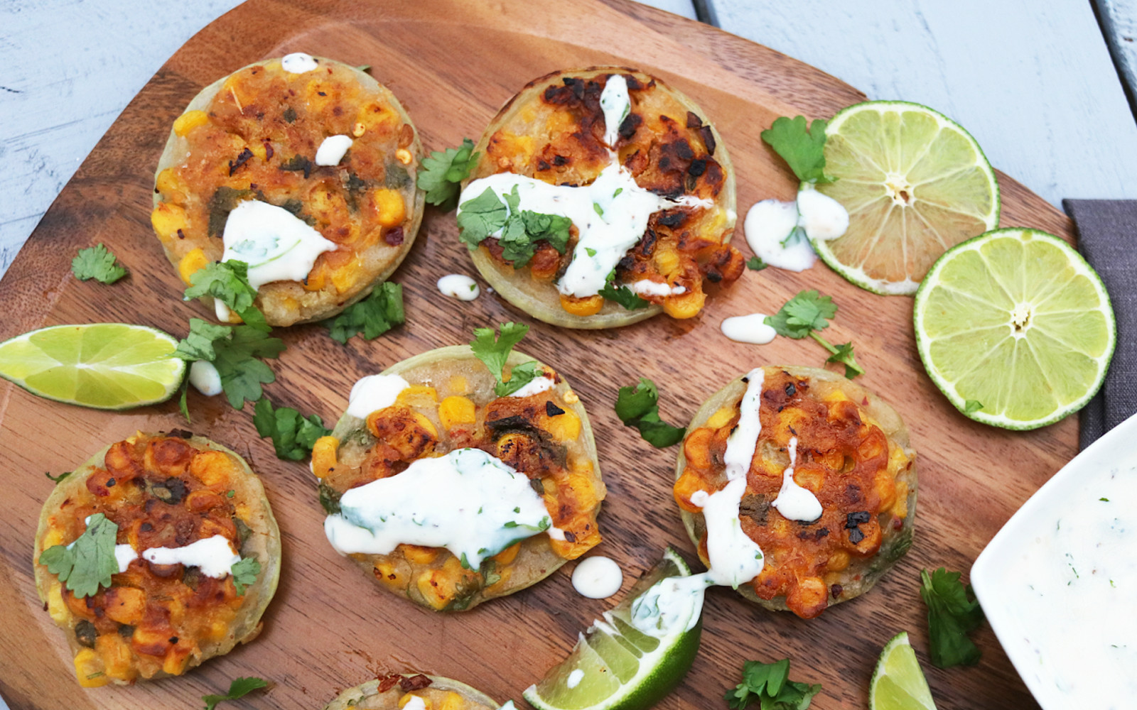 Spicy Sweetcorn and Onion Fritters b