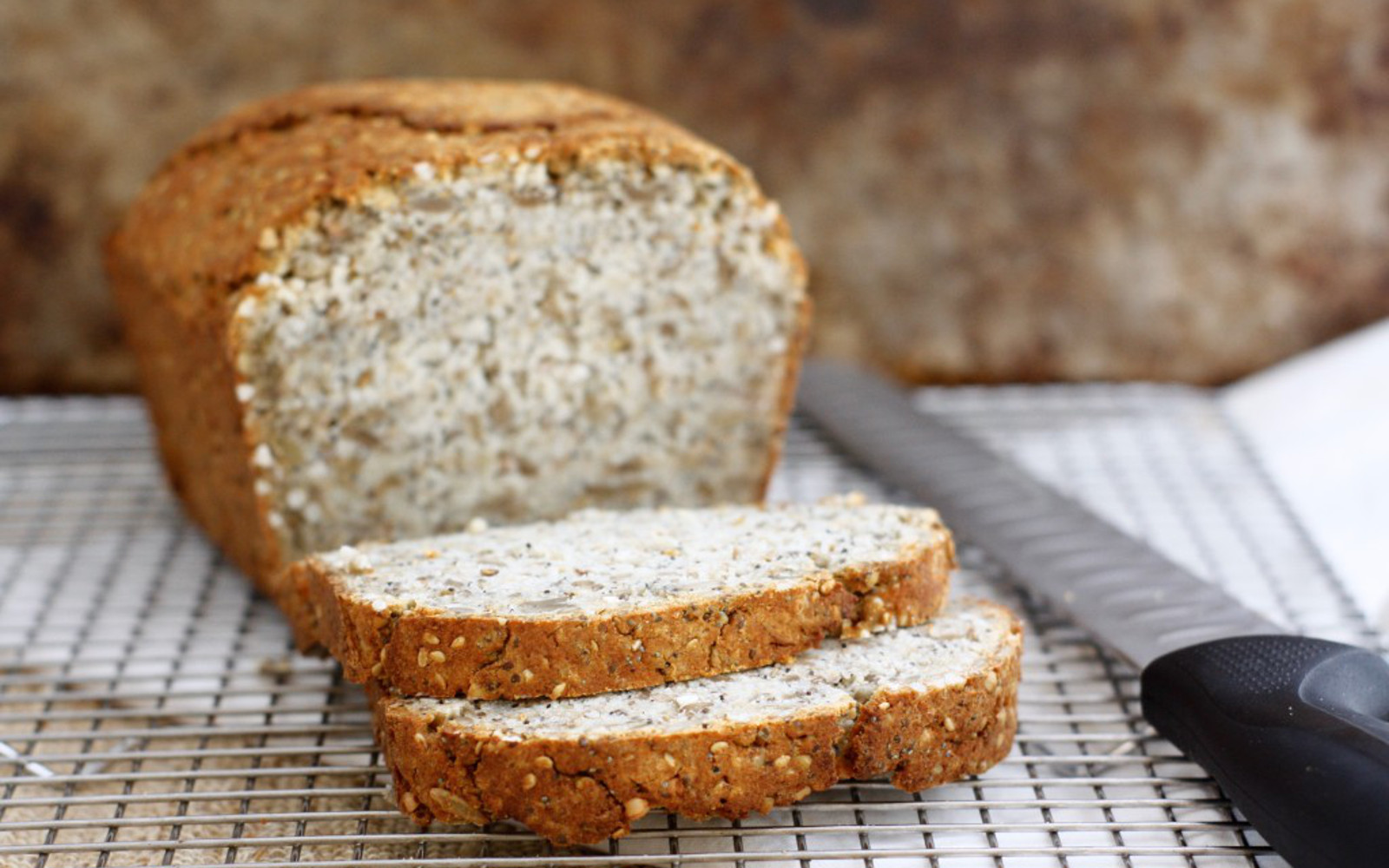 No-Knead Nut and Seed Bread