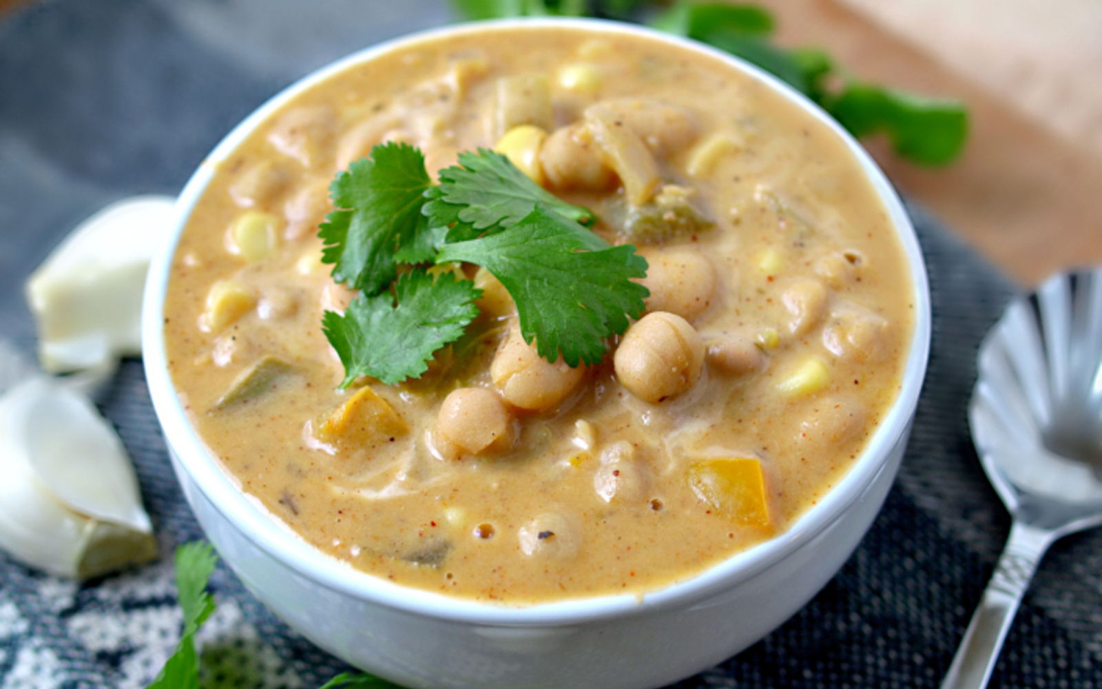 Oil-Free White Chili