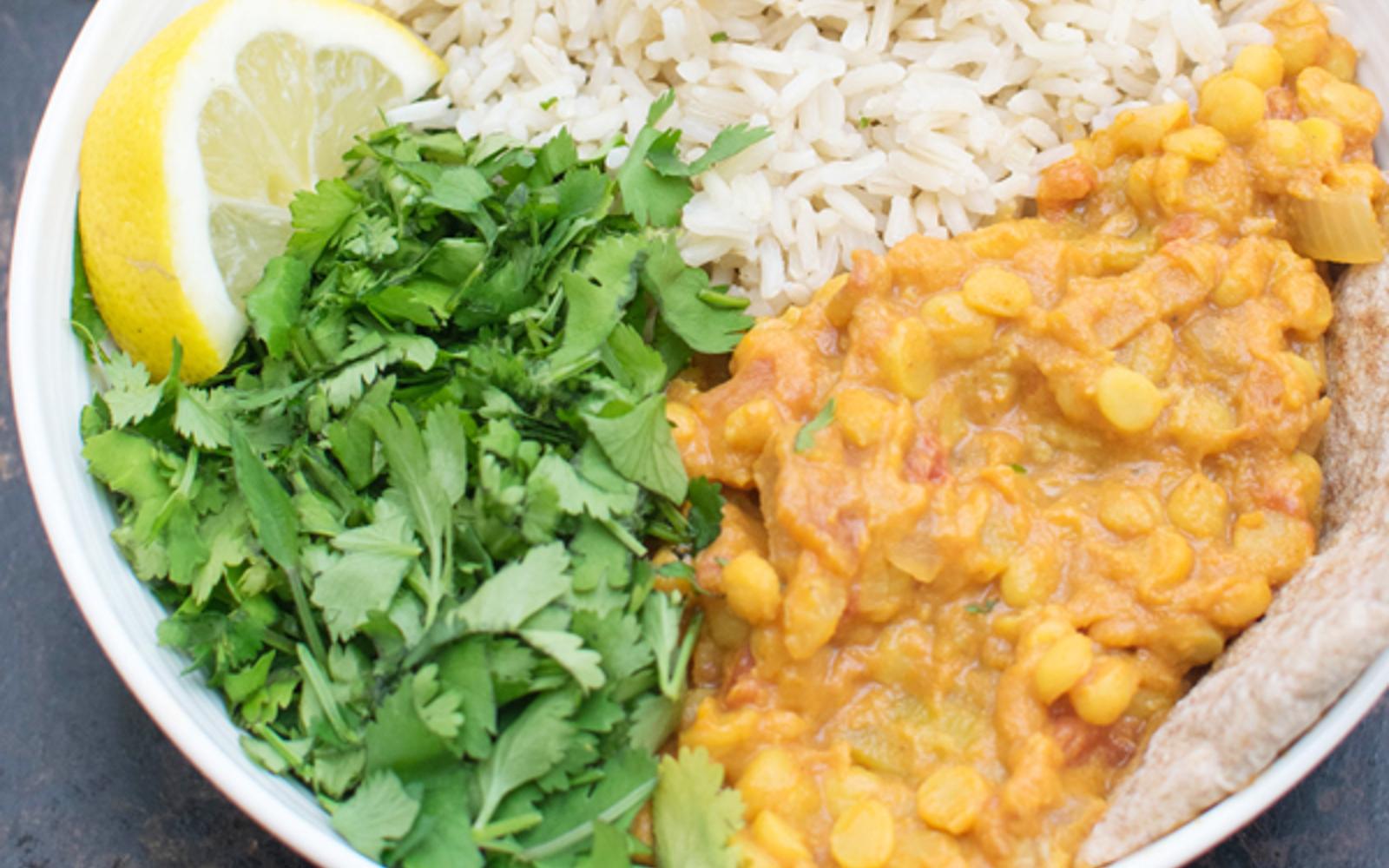 One-Pot Split Pea Curry