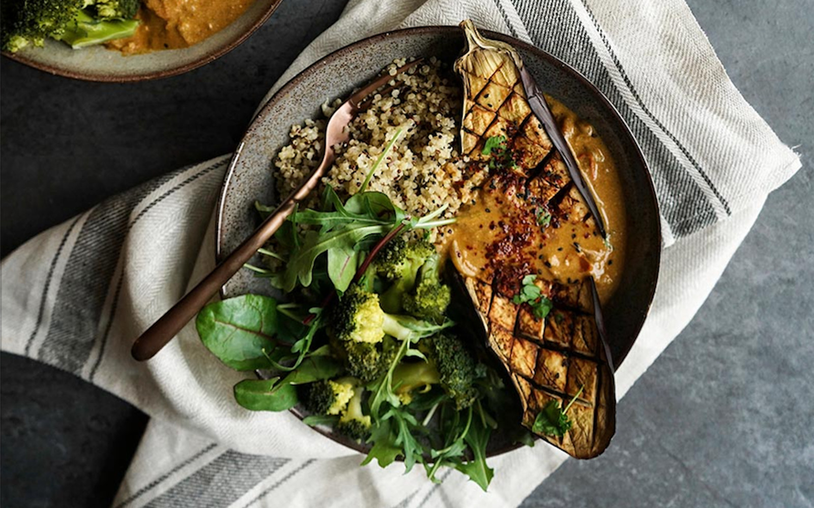 Garam Masala Eggplant