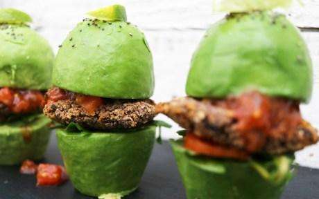Avocado Bun Burgers