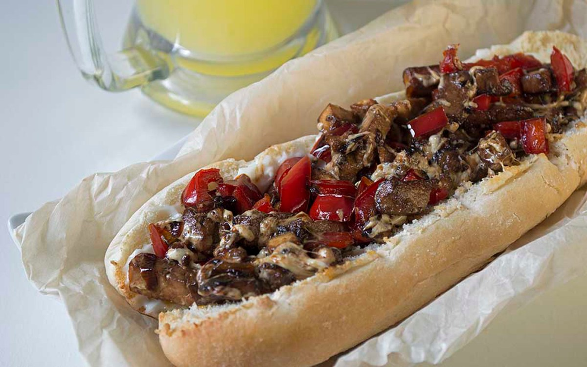 Philly Tofu Cheese Steak