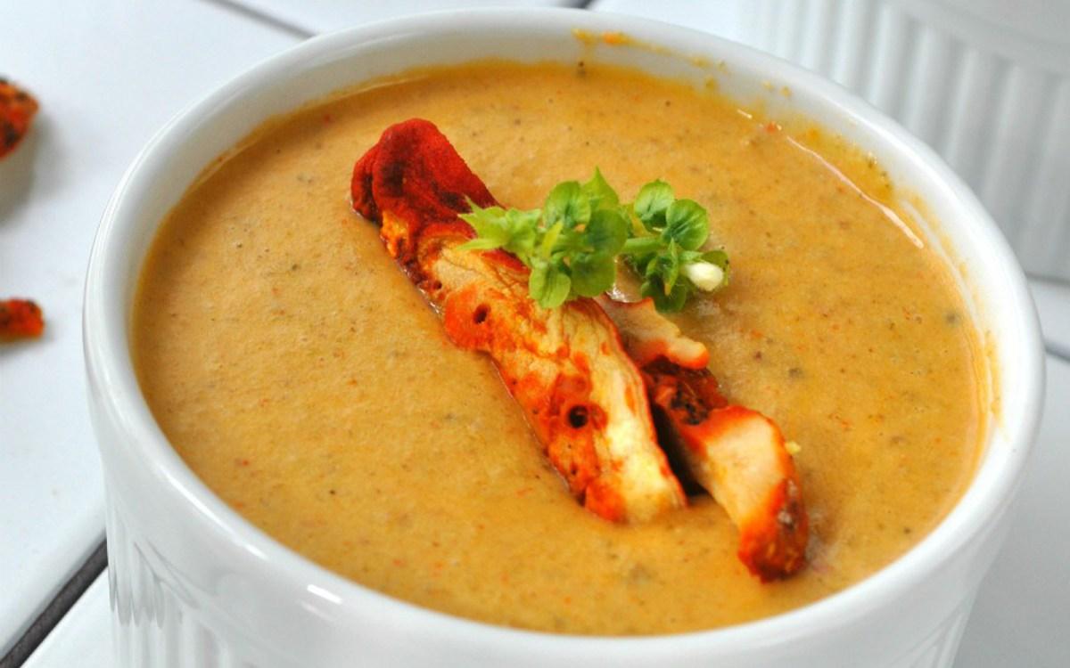 Lobster Mushroom Bisque [Vegan, Gluten-Free] - One Green Planet