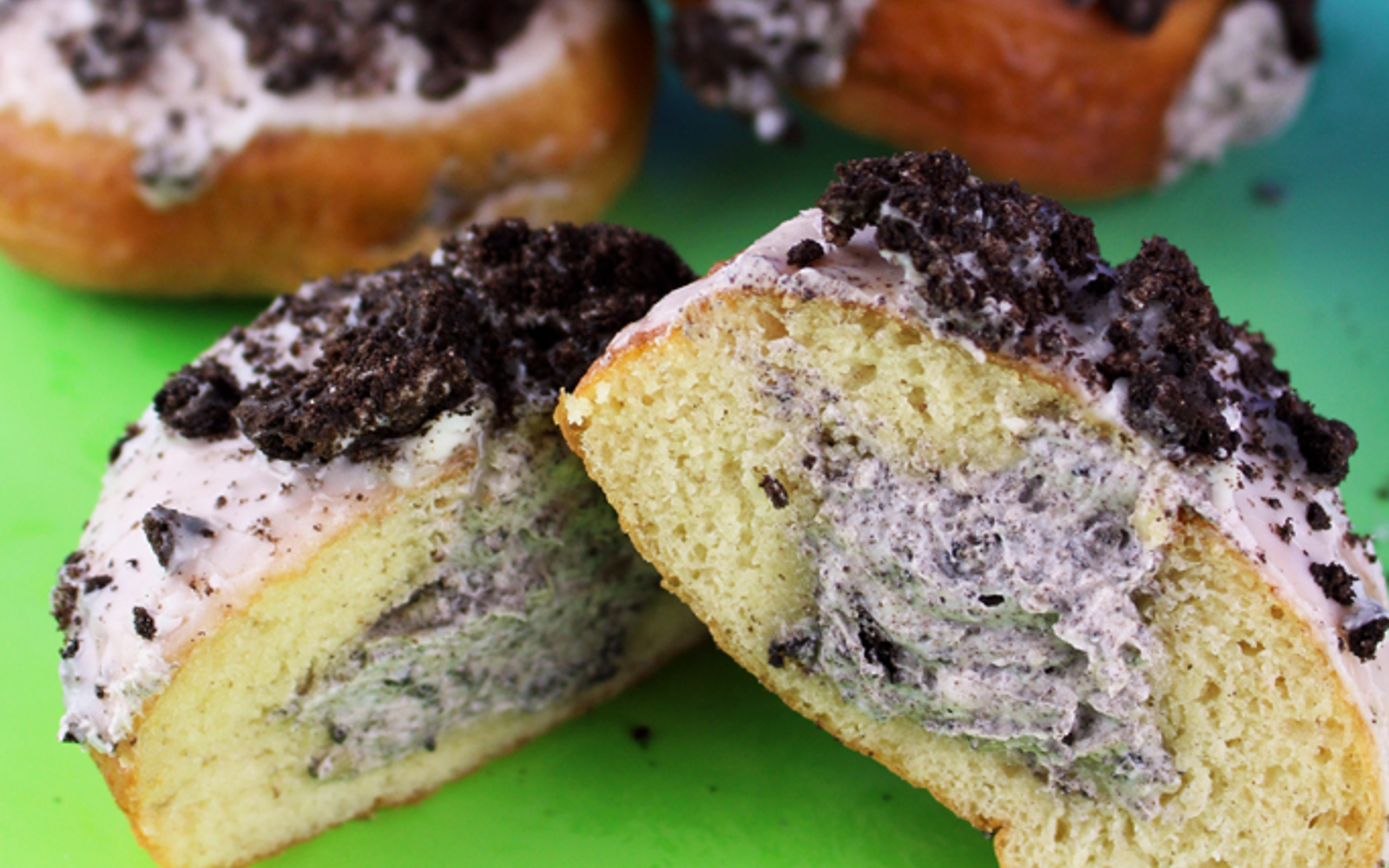 Oreo Cookies and Cream Donuts