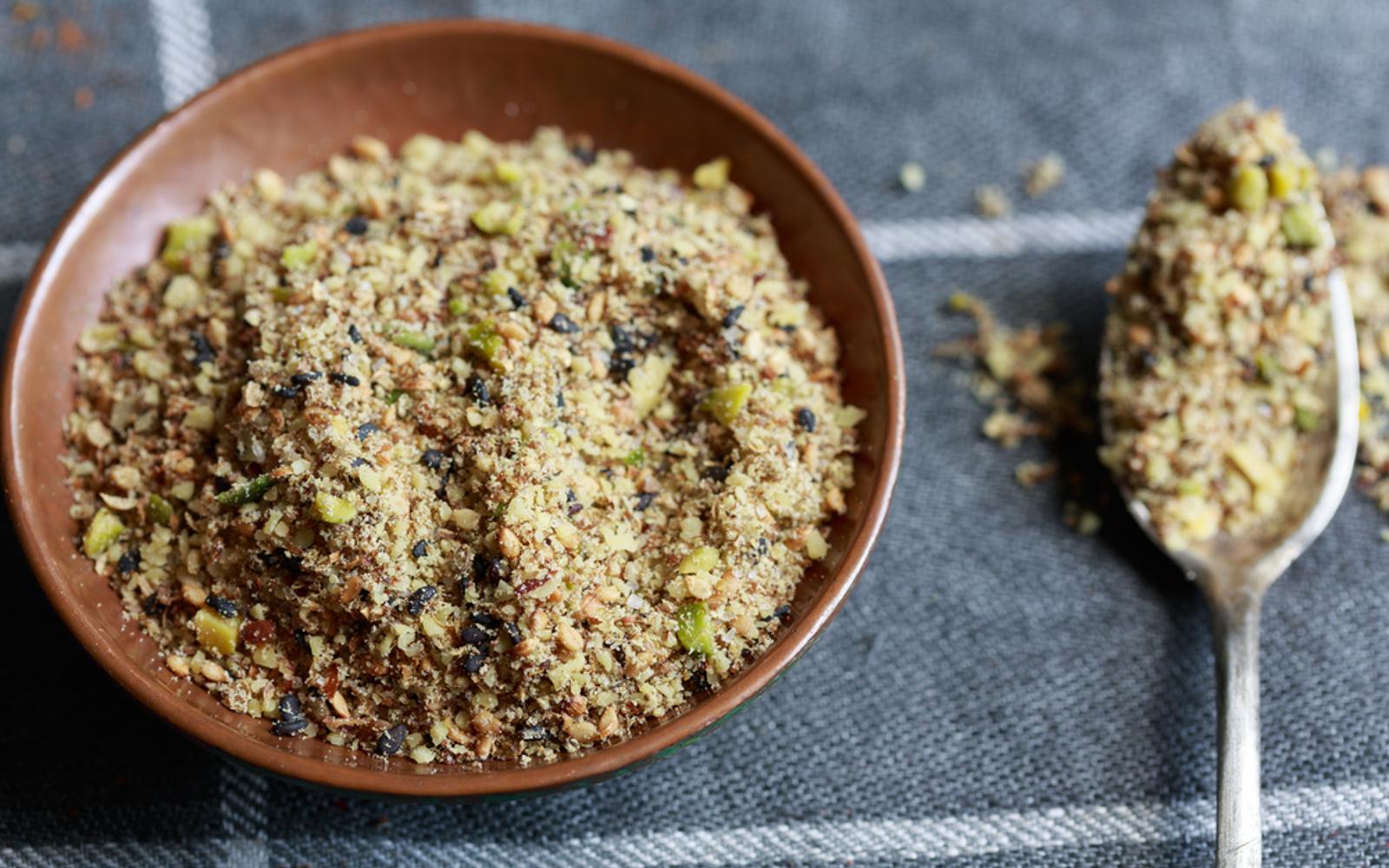 how to use dukkah seasoning