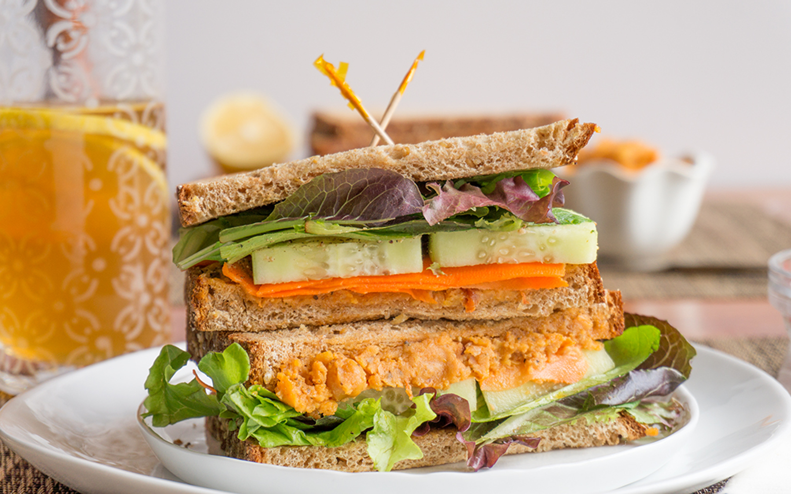 Spicy Roasted Chickpea Spread