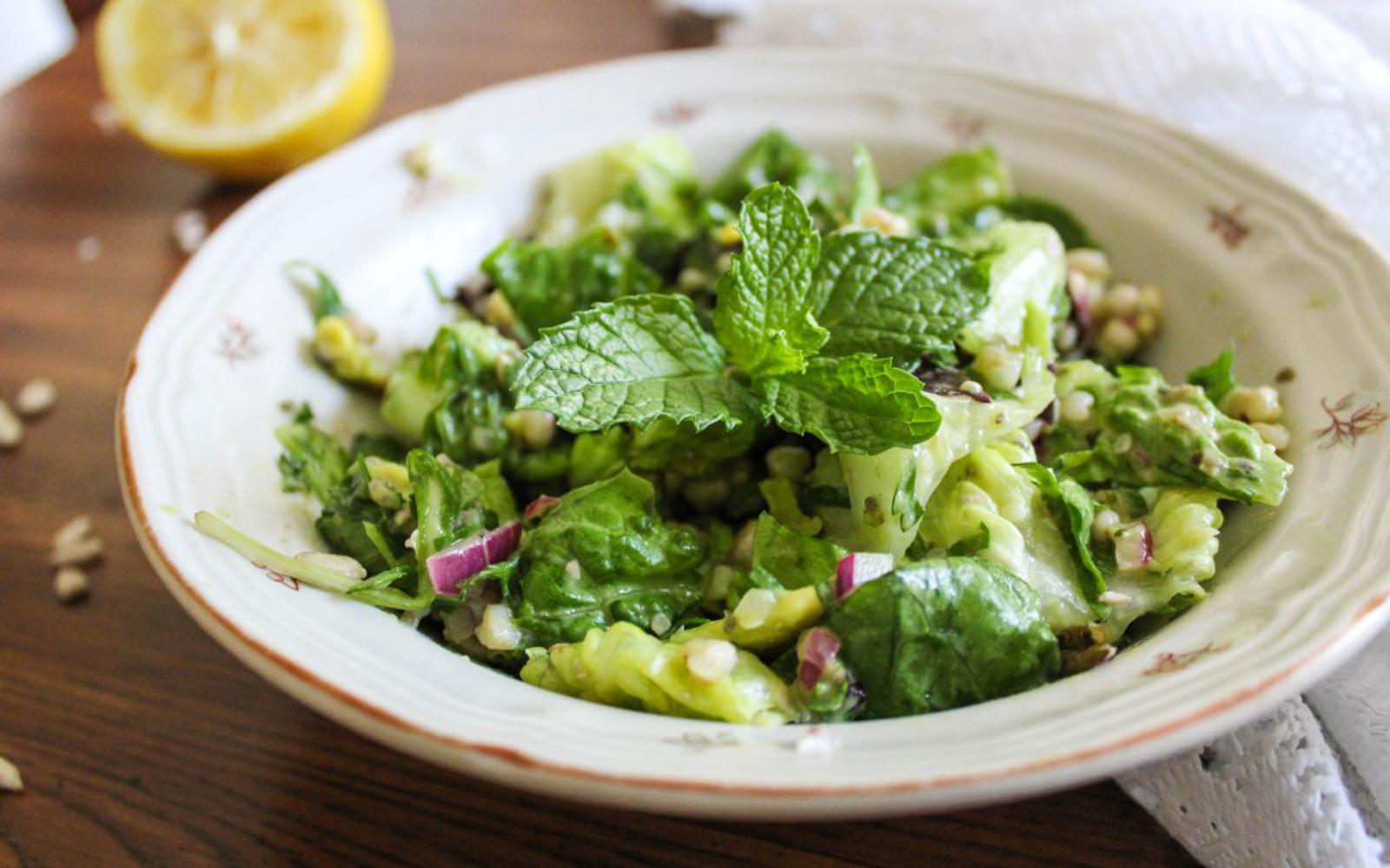 Buckwheat and Avocado Tabbouleh