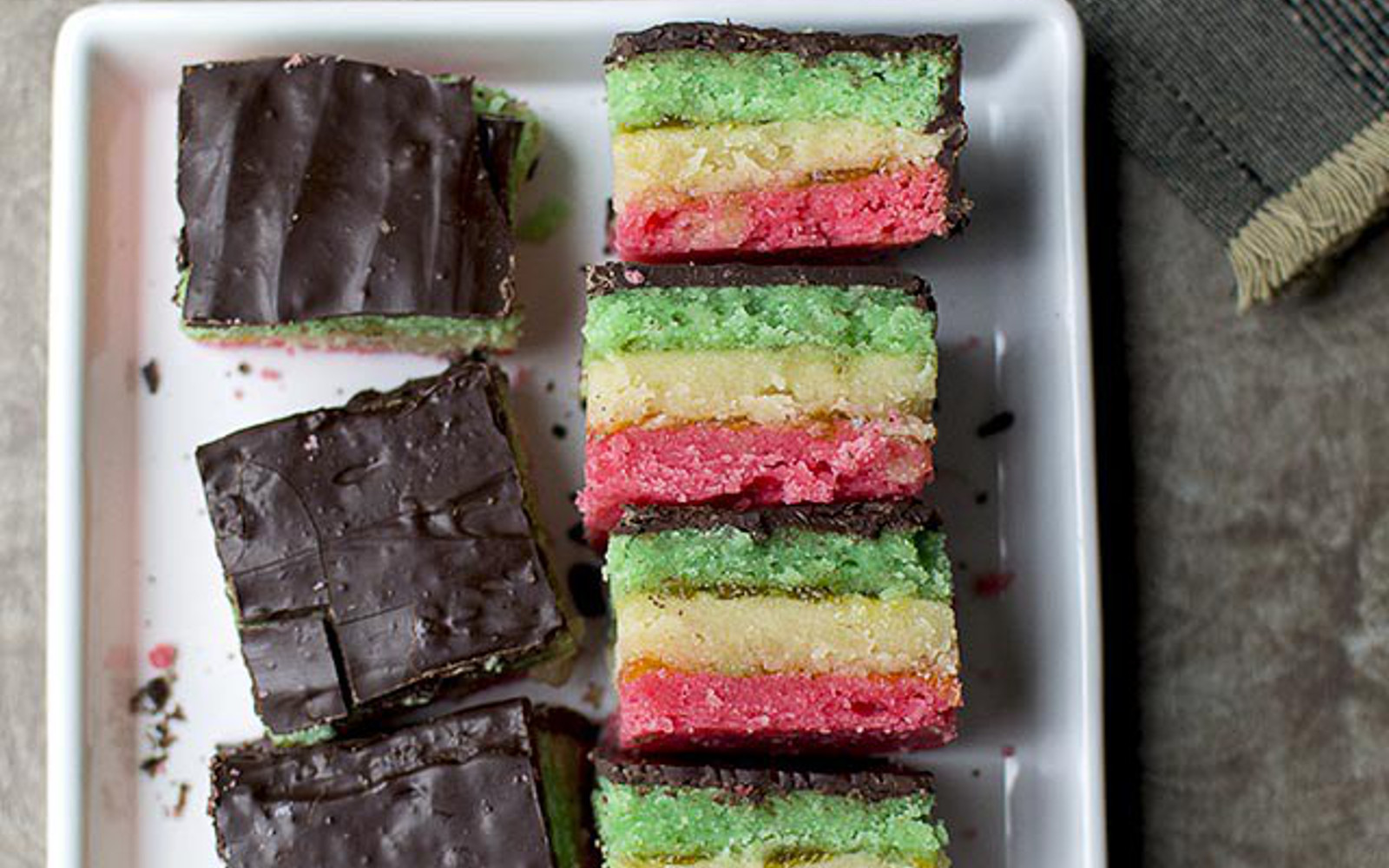 Italian Rainbow Cookie c