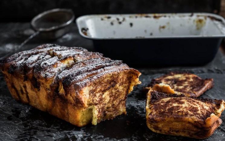 Pull-Apart Cinnamon Bread