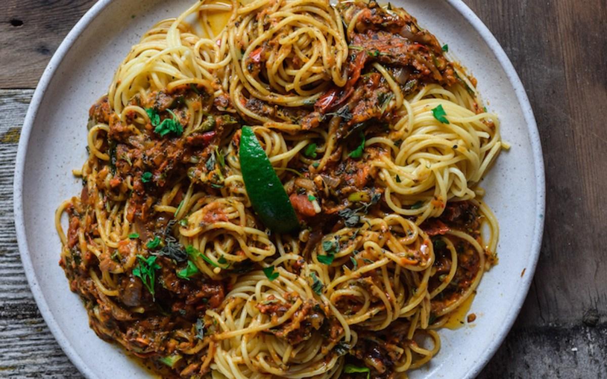 vegan veggie pasta sauce