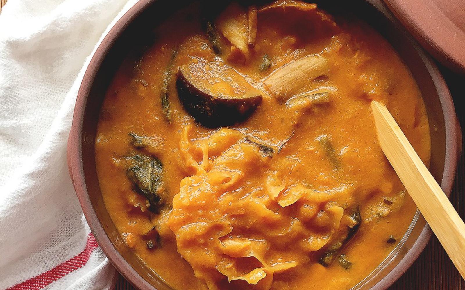 Vegan Kare-Kare: Filipino Vegetable Stew in Peanut-Based Sauce