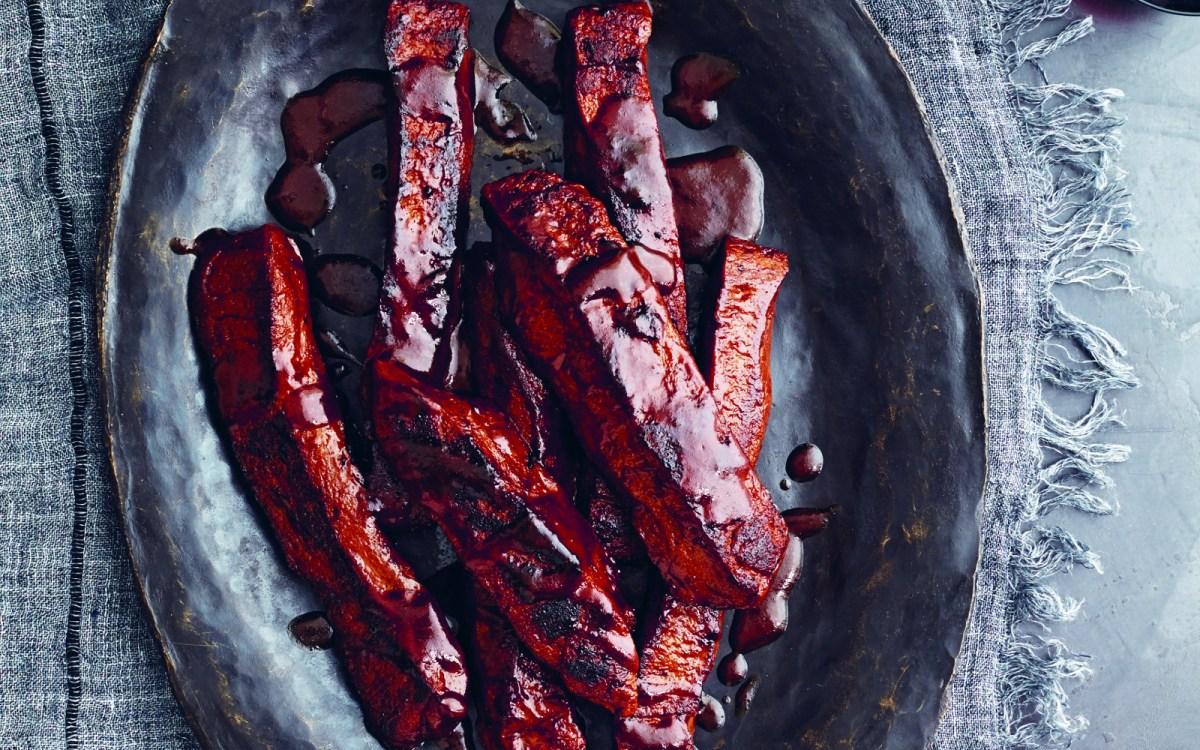 VEgan BBQ Seitan Ribs With Homemade Barbecue Sauce