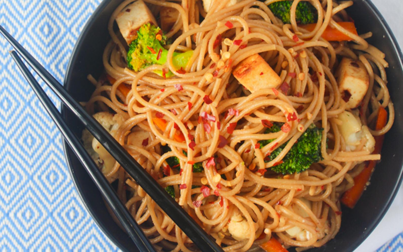 Cirali Soy Sauce Noodles