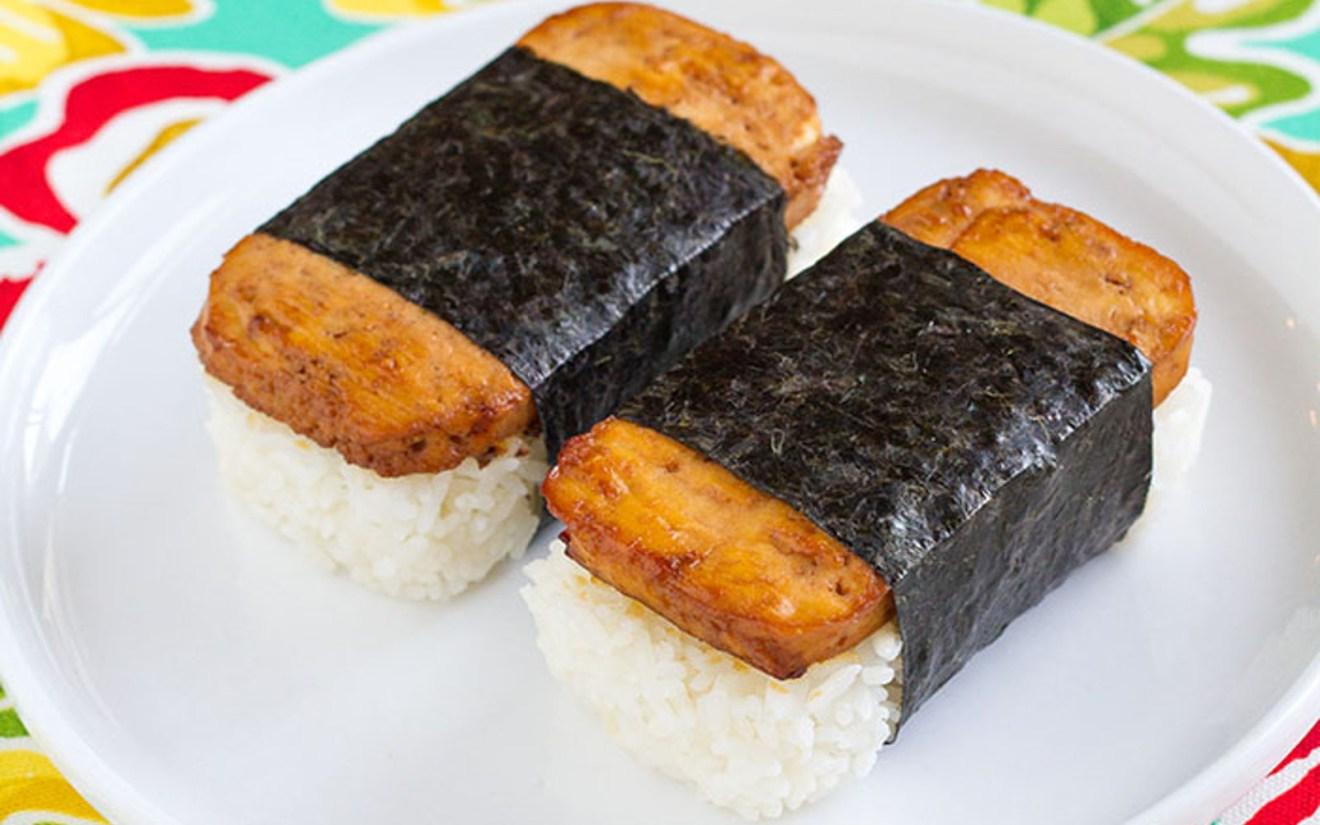 Vegan Tofu 'Spam' Musubi: Hawaiian Sushi